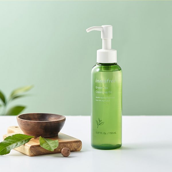 tẩy trang innisfree green tea cleansing oil